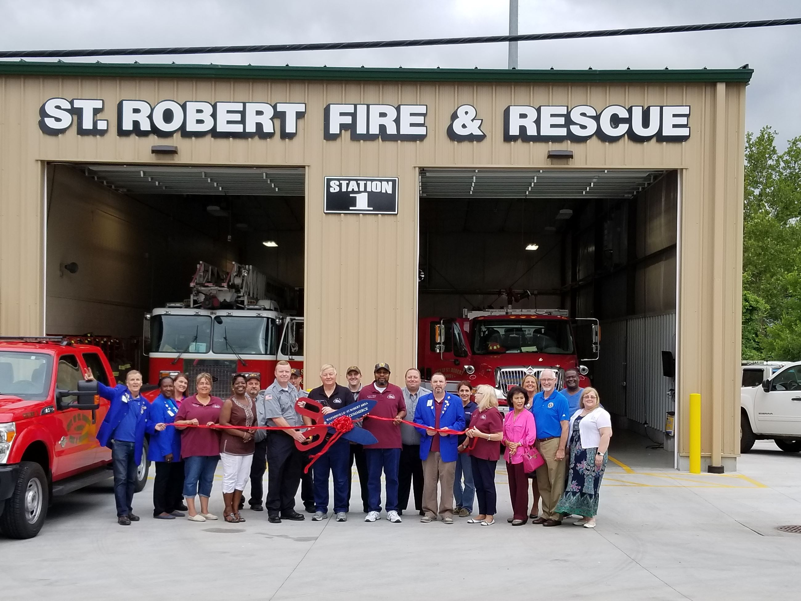 St. Robert Fire Department Ribbon Cutting